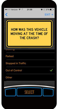 AccidentPlan - How was the vehicle moving