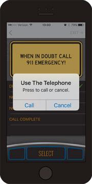 AccidentPlan - Use the Telephone